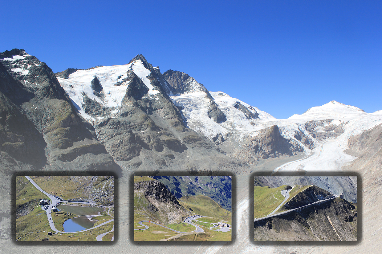 Collage Großglockner